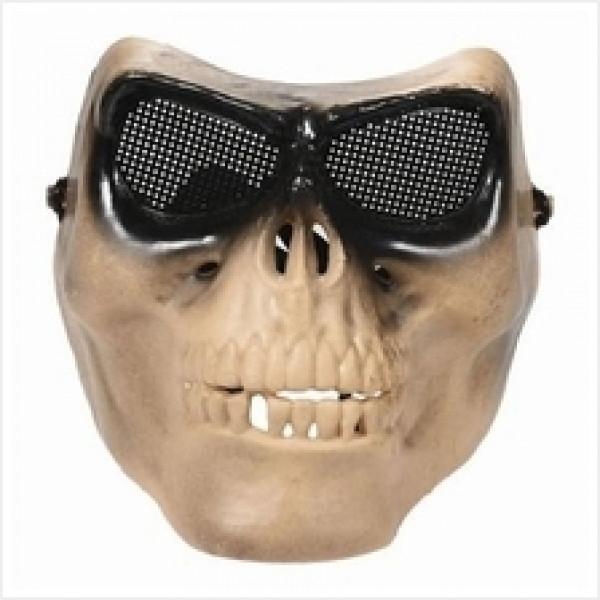 Basic Outdoor Plastic Half Skull Mask