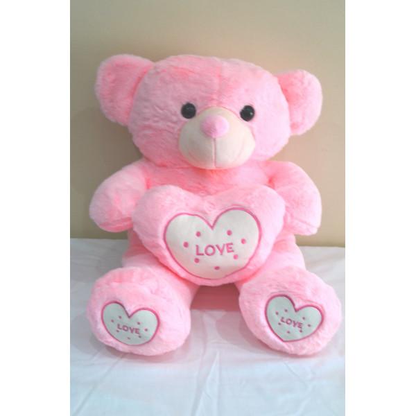 58cm Pink Love Teddy Bear