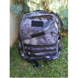 28 litre Camo Black And White Outdoor Backpack