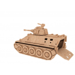 3D Wooden Army Tanker Puzzle(3P