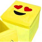 Emoji Kids Heart Eyes Storage Boxes