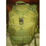 25 Litre Camo Army Colour Outdoor Backpack