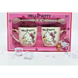 2 x Hello kitty mug set