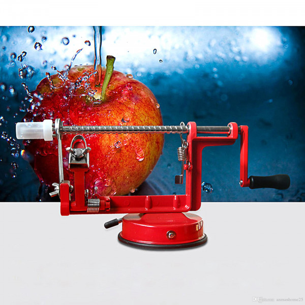 Apple Slicing And Peeling Machine