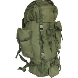 70 Litre Camo Outdoor Backpack(ARMY GREEN COLOUR)